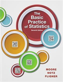 Basic Practice of Statistics, by Moore, 7th Edition 7 PKG 9781319019341