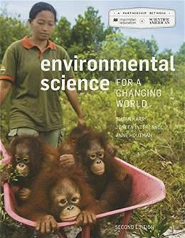 Scientific American Environmental Science for a Changing World, by Karr, 2nd Edition 2 PKG 9781319028992
