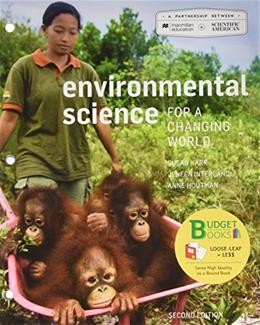 Scientific American Environmental Science for a Changing World, by Houtman, 2nd Edition 2 PKG 9781319029036