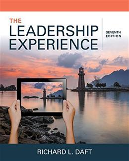 The Leadership Experience 7 9781337102278