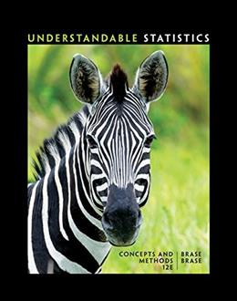 Understandable Statistics: Concepts and Methods 12 9781337119917