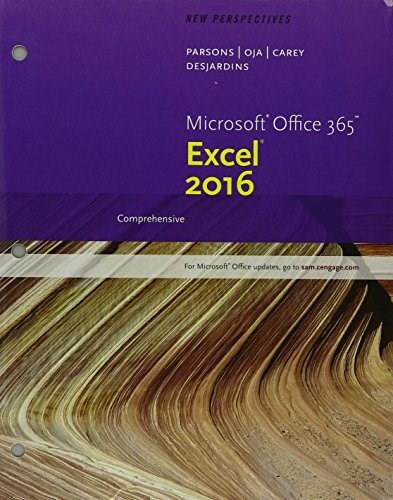 Bundle: New Perspectives Microsoft Office 365 & Excel 2016: Comprehensive, Loose-leaf Version + SAM 365 & 2016 Assessments, Trainings, and Projects with 1 MindTap Reader Multi-Term Printed Access Card 9781337216616
