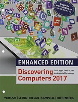 Enhanced Discovering Computers, by Vermaat 9781337251877
