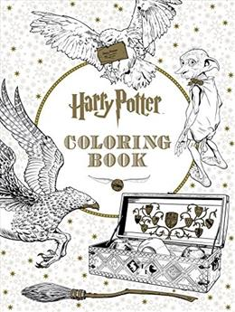 Harry Potter Coloring Book Clr 9781338029994