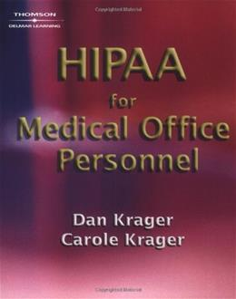 HIPAA for Medical Office Personnel, by Krager 9781401865740