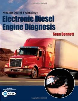 Modern Diesel Technology: Electronic Diesel Engine Diagnosis, by Bennett 9781401870799
