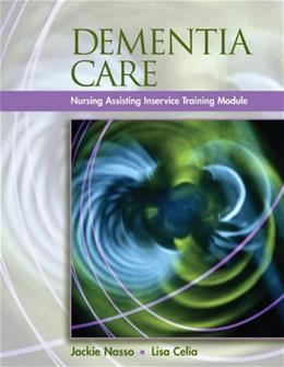 Dementia Care: InService Training Modules for Long Term Care, by Nasso BK w/CD 9781401898588