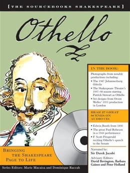 Othello: The Sourcebooks Shakespeare, by Shakespeare BK w/CD 9781402201028
