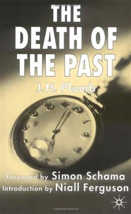 Death of the Past, by Plumb, 2nd Edition 9781403906984