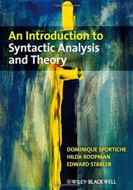 An Introduction to Syntactic Analysis and Theory 1 9781405100175