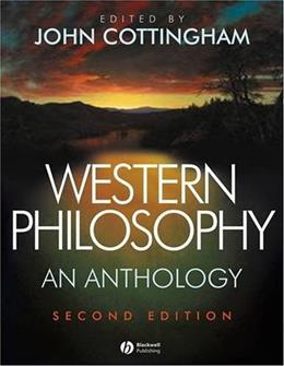 Western Philosophy: An Anthology 2 9781405124782