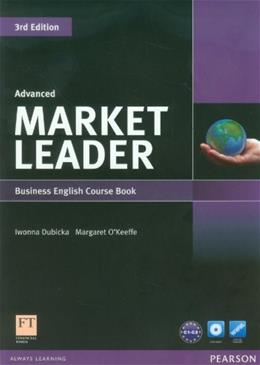 Market Leader Advanced Business English Course Book, by Dubicka, 3rd Edition 3 w/DVD 9781408237038