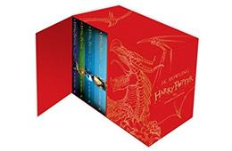 Harry Potter Boxed Set: The Complete Collection (Childrens Hardback) 9781408856789