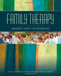 Family Therapy: Models and Techniques, by Rasheed 9781412905749