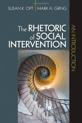 Rhetoric of Social Intervention: An Introduction, by Opt 9781412956901