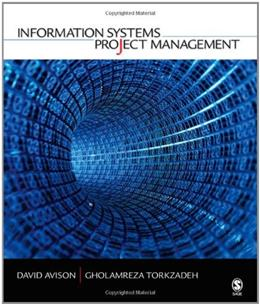 Information Systems Project Management, by Torkzadeh 9781412957021