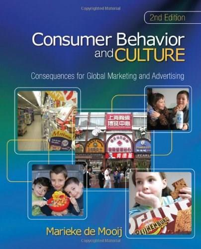 Consumer Behavior and Culture: Consequences for Global Marketing and Advertising, by de Mooij, 2nd Edition 9781412979900