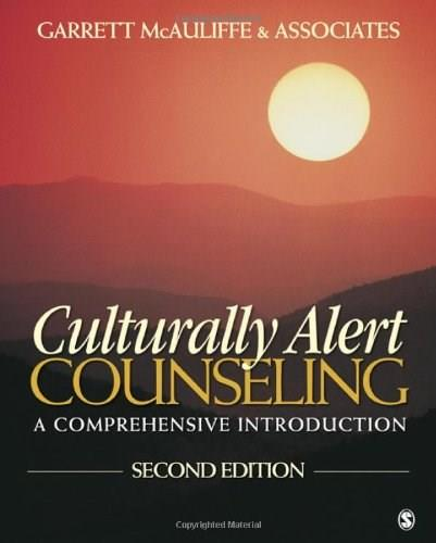 Culturally Alert Counseling: A Comprehensive Introduction 2 w/CD 9781412981354