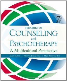 Theories of Counseling and Psychotherapy: A Multicultural Perspective 7 w/CD 9781412987233