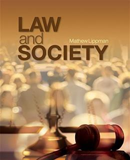Law and Society 1 9781412987547