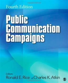 Public Communication Campaigns (Volume 4) 9781412987707