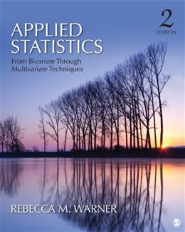Applied Statistics 2 9781412991346