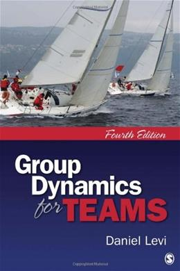 Group Dynamics for Teams 4 9781412999533