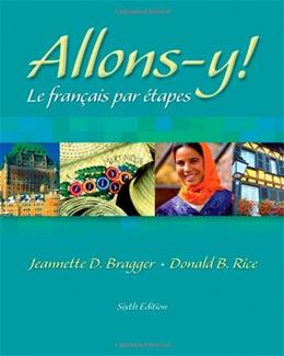 Allons-y! Le Francais par Etapes, by Bragger, 6th Edition 6 w/CD 9781413001907