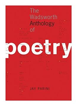 Wadsworth Anthology of Poetry, by Parini 9781413014150