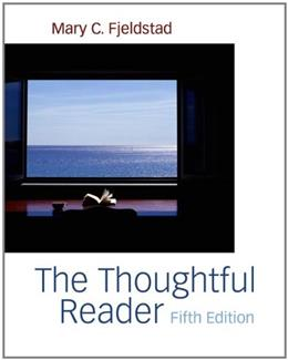 Thoughtful Reader, by Fjeldstad, 5th Edition 9781413033472