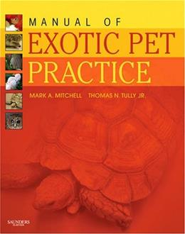 Manual of Exotic Pet Practice, by Mitchell 9781416001195