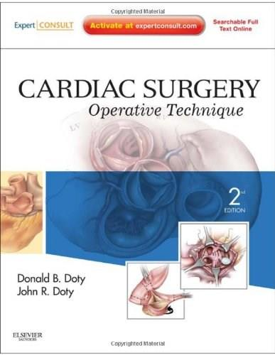 Cardiac Surgery: Operative Technique, by Doty, 2nd Edition 2 PKG 9781416036531