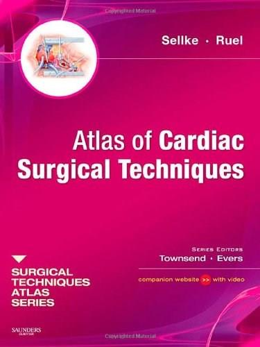 Atlas of Cardiac Surgical Techniques, by Sellke PKG 9781416040651