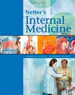 Netters Internal Medicine, by Runge, 2nd Edition 9781416044178