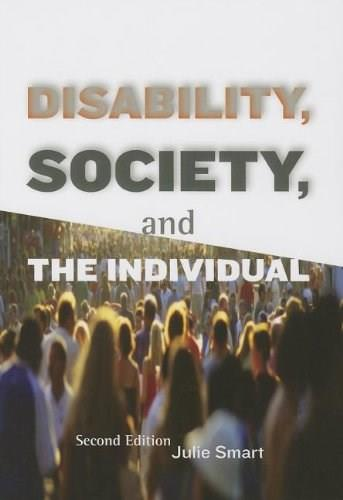 Disability, Society, and the Individual 2 9781416403722