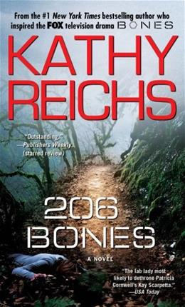 206 Bones: A Novel (Temperance Brennan) 9781416525677