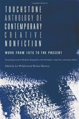 Touchstone Anthology of Contemporary Creative Nonfiction: Work from 1970 to the Present, by Williford 9781416531746