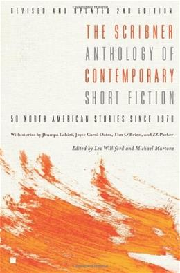 Scribner Anthology of Contemporary Short Fiction: 50 North American Stories Since 1970, by Williford, 2nd Edition 9781416532279