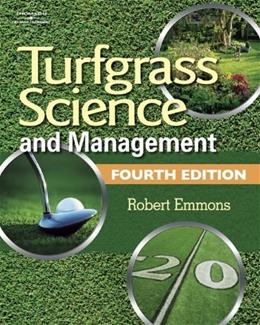 Turfgrass Science and Management, by Emmons, 4th Edition 9781418013301