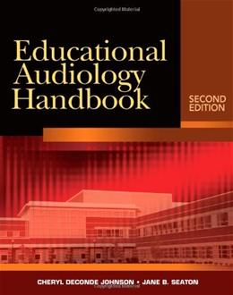 Educational Audiology Handbook, by Johnson, 2nd Edition 2 w/CD 9781418041304