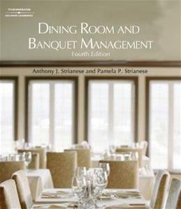 Dining Room and Banquet Management 4 9781418053697