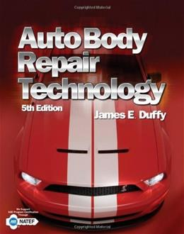 Auto Body Repair Technology, by Duffy, 5th Edition 9781418073534