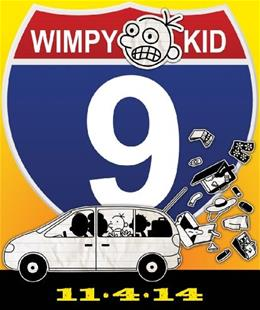 Diary of a Wimpy Kid: The Long Haul, by Kinney, Grades 3-7 9781419711893