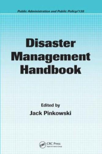 Disaster Management Handbook, by Pinkowski 9781420058628