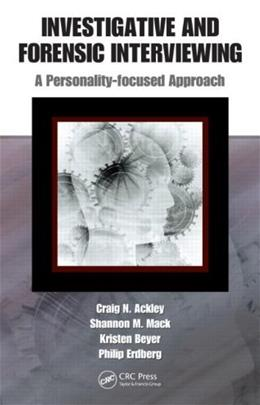 Forensic Interviewing and Personality Disorders, by Erdberg 9781420084252