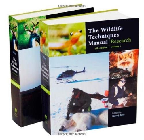 The Wildlife Techniques Manual: (Volume 1: Research/ Volume 2: Management) 7 PKG 9781421401591