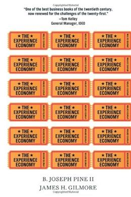 Experience Economy, by Pine, Updated Edition 9781422161975