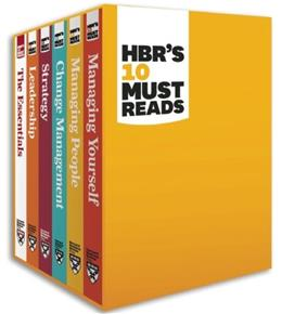 HBRs Must Reads, by Harvard Business Review, 6 Volume Set PKG 9781422184059