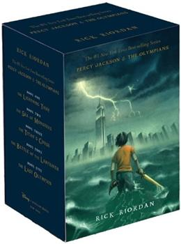 Percy Jackson and the Olympians, by Riordan, 5 BOOK SET PKG 9781423141891