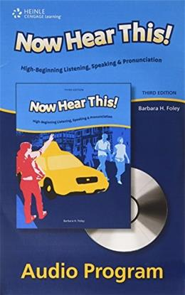 Now Hear This!, by Foley, CD-ROM ONLY 3 CD-ROM 9781424016143